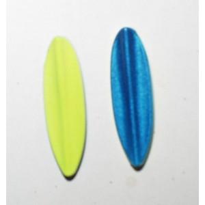 TRUTTA  8g Smal model gul/blå