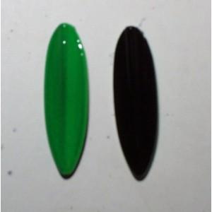 TRUTTA  8g Smal model grøn/sort