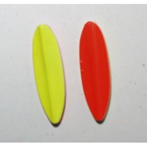 TRUTTA  8g Smal model gul/rød