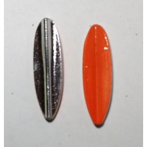TRUTTA  8g Smal model sølv/orange